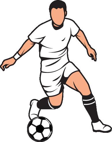 389x495 English Football Clipart