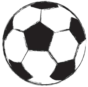 300x296 Football Black And White Football Clipart Black And White Tusc