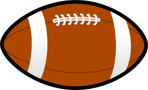 300x182 Football Clip Art Free Free Clipart Images