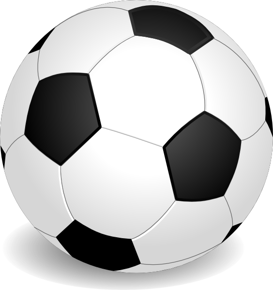 564x599 Free Football Clip Art Images Clipart Image