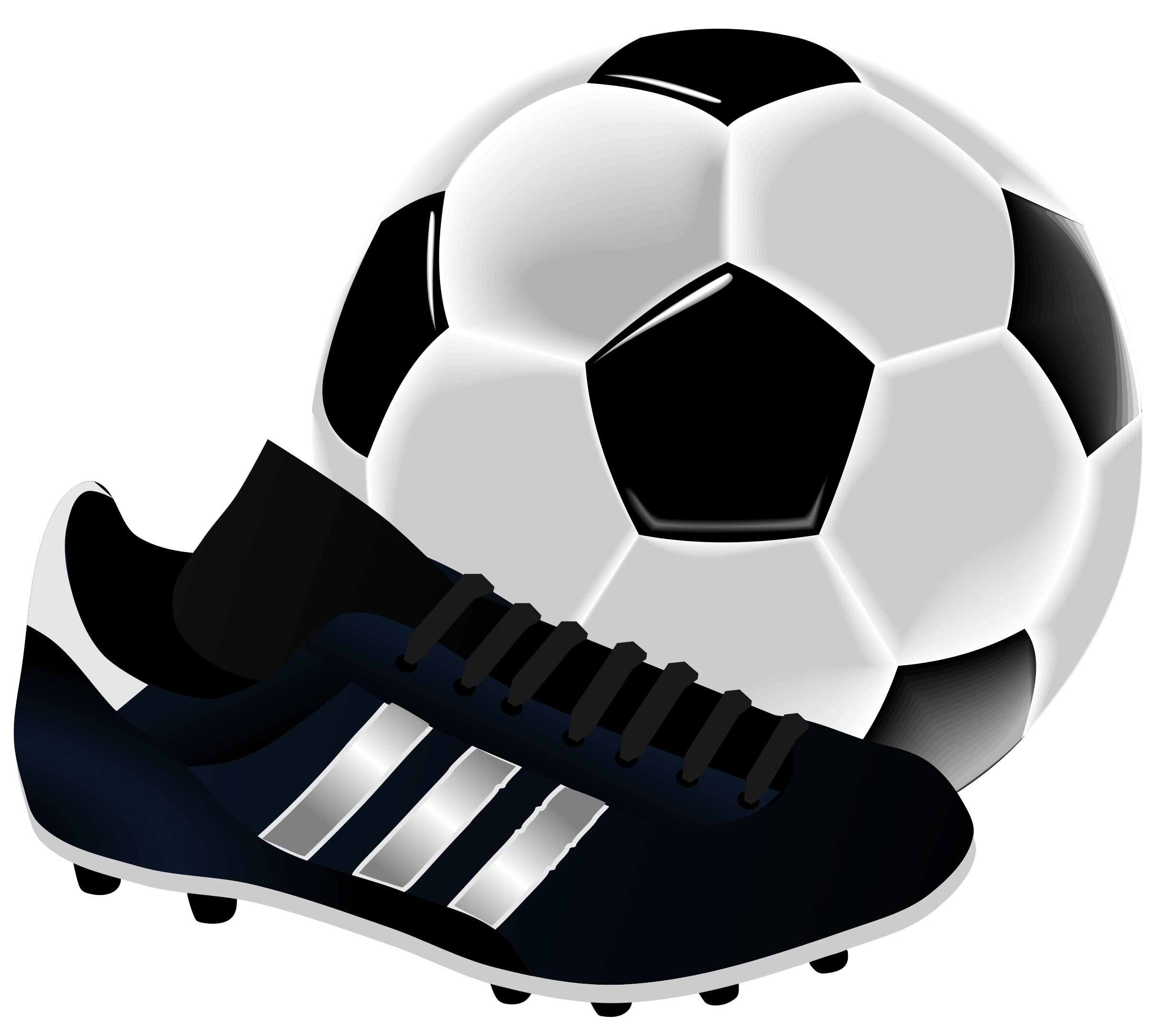 2400x2160 Soccer By Gnokii Futbol Clip Art Clip Art And Cards