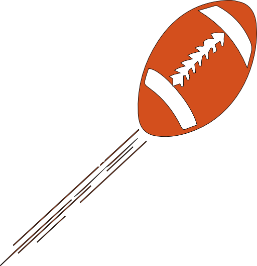512x529 American Football Clipart