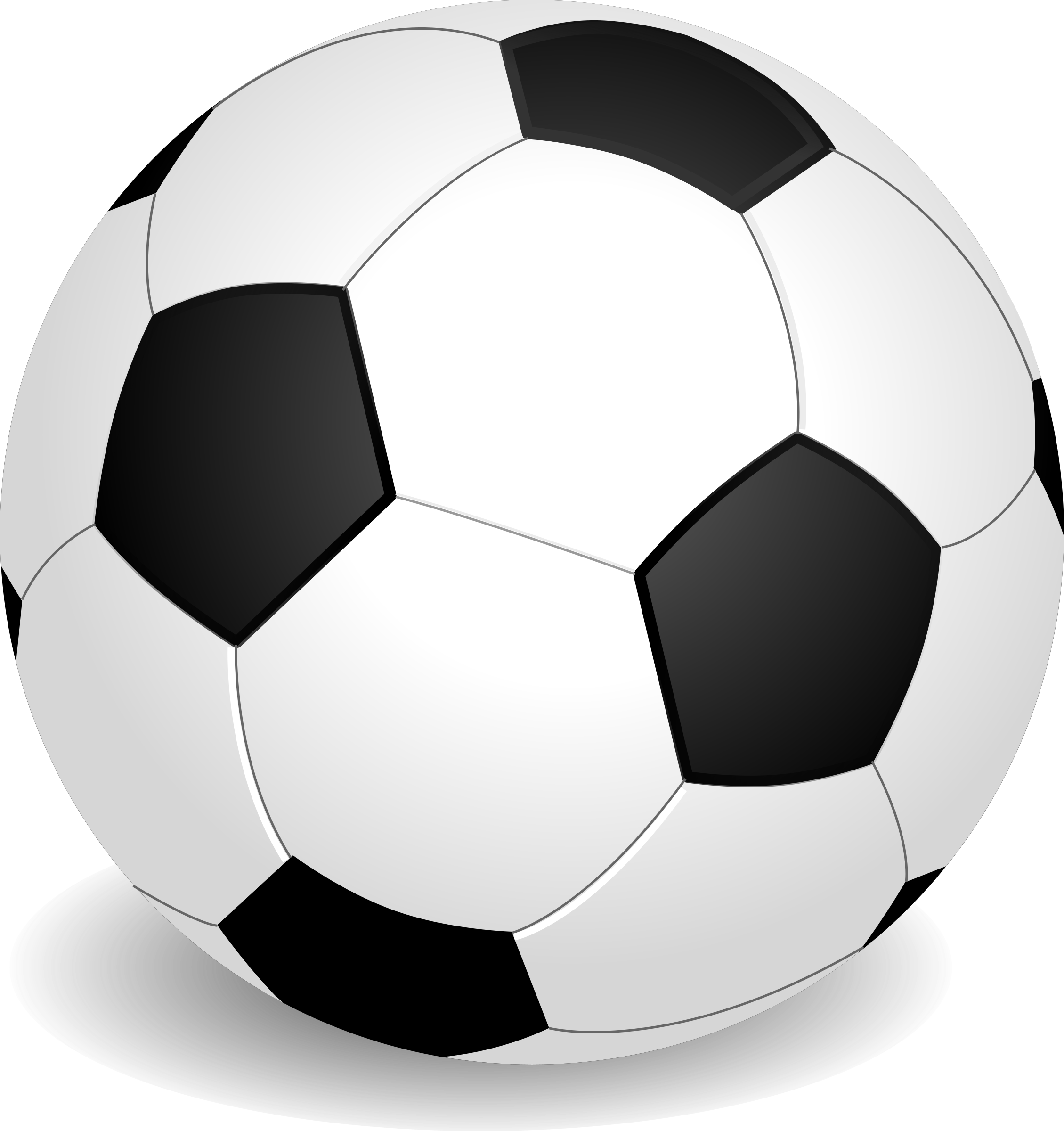 2259x2400 Soccer Football Clipart