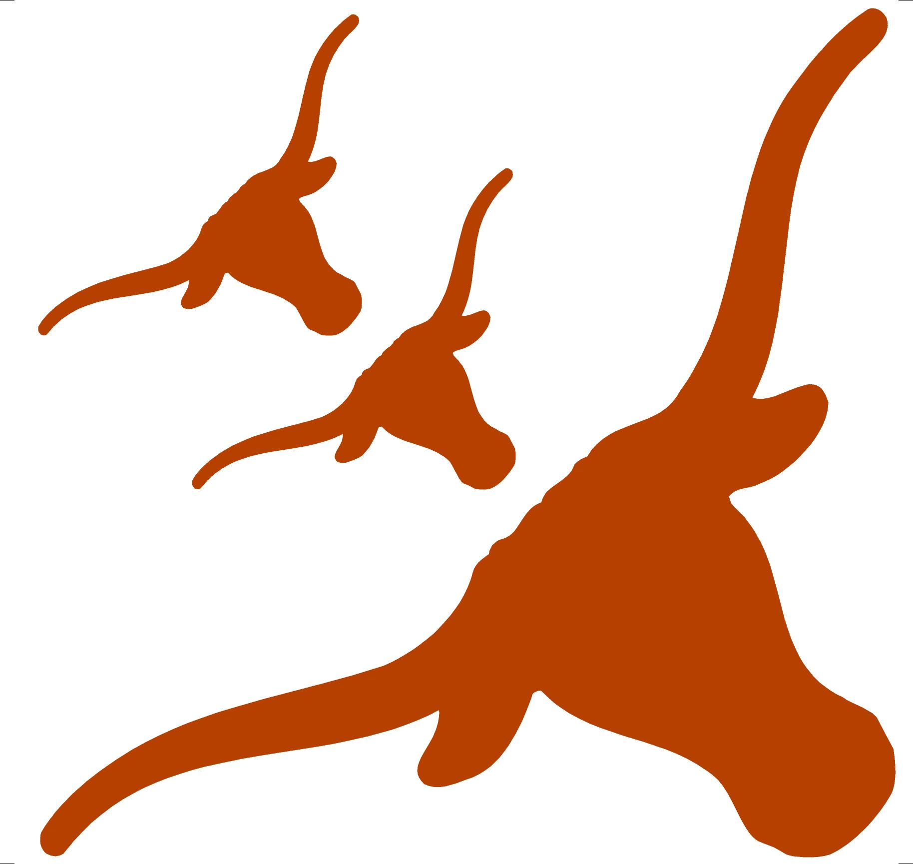 1828x1729 Longhorn Football Clipart