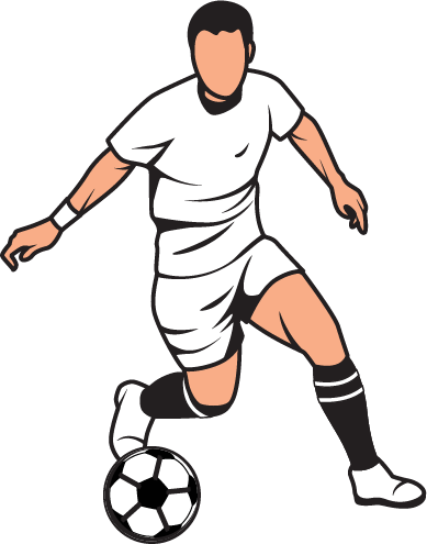 389x495 English Football Clipart