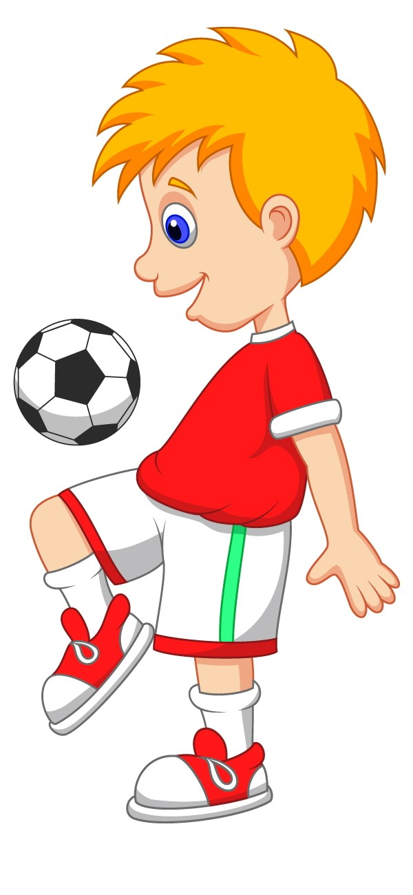 600x1300 Football Cartoon Cliparts 210779