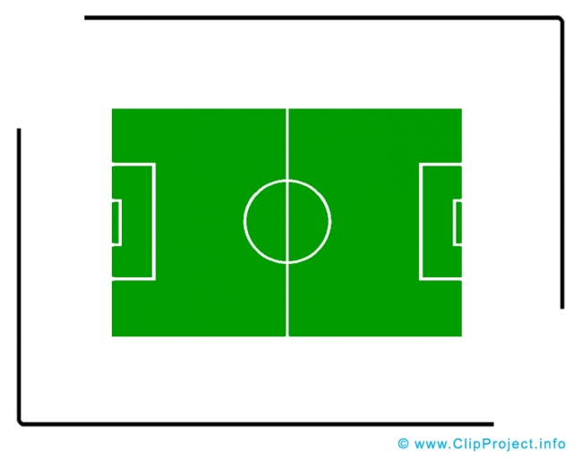 650x513 Football Field Clipart