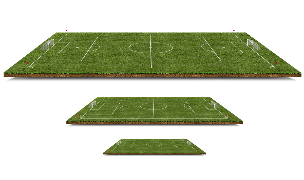 Football Field Borders
