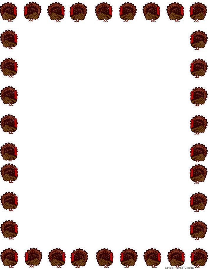 710x915 Football Borders Clip Art