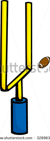 168x470 Field Goal Clipart
