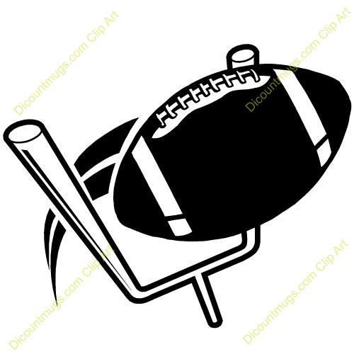 500x500 Football Goal Post Clip Art