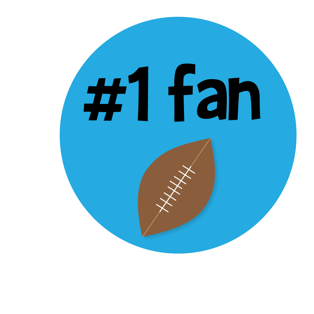 1000x1000 Free Football Clipart To Use On Websites, For Team Parties Or Any