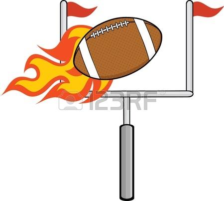 450x403 Black And White American Football Ball Cartoon Illustration