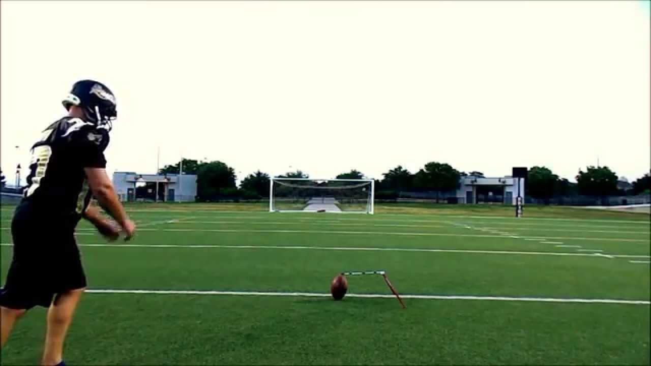 1280x720 Barefoot Field Goal Practice