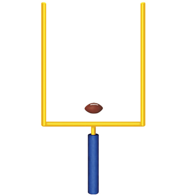 400x400 Jointed Goal Post