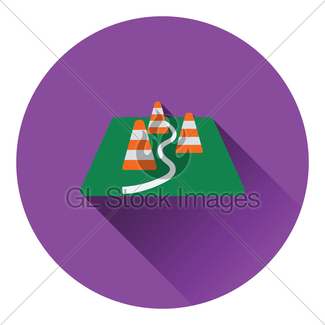 325x325 Icon Of Football Field Gl Stock Images