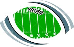 236x150 Sports Clipart Image Of Football Graphic Field Football Clip Art