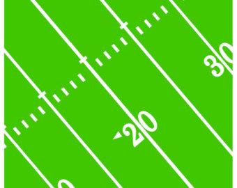 340x270 Touchdown End Zone Football Field Panel Robert Kaufman