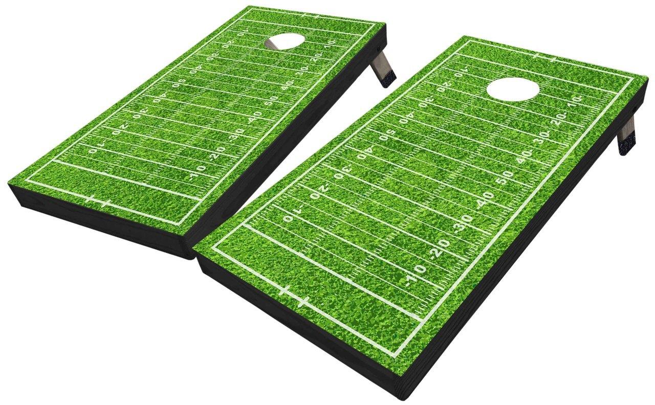 1280x792 Football Field Custom Cornhole Set
