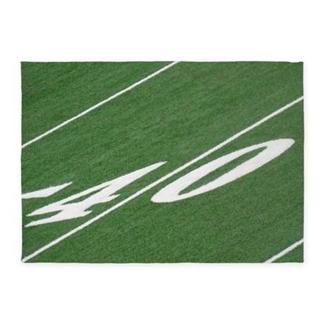 460x460 Football Field Area Rug Roselawnlutheran