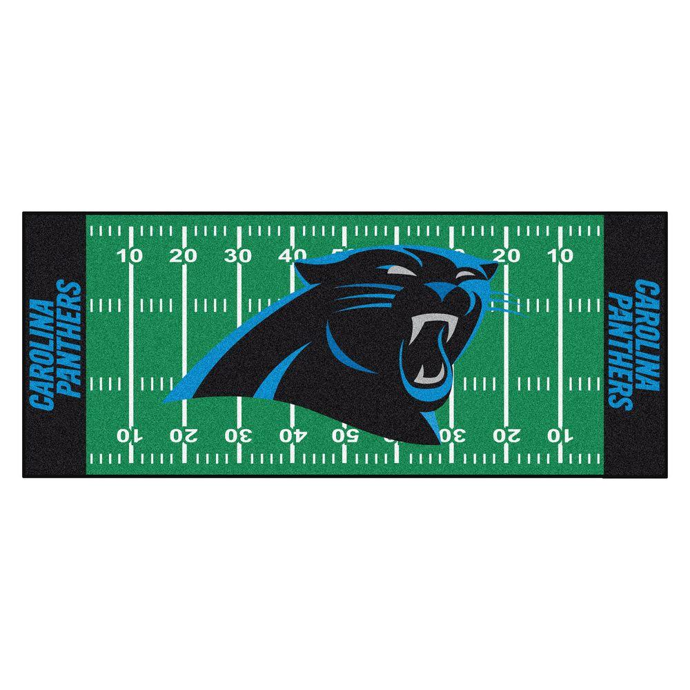 1000x1000 Fanmats Carolina Panthers 2 Ft. 6 In. X 6 Ft. Football Field