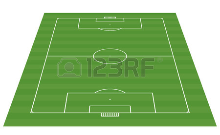 450x277 Football Field Blackboard Background Vector Illustration Royalty