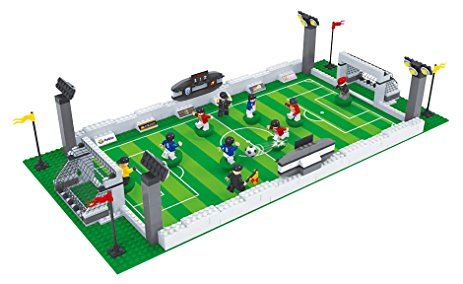 463x284 Brick Land Soccer Game Building Bricks Toy Set
