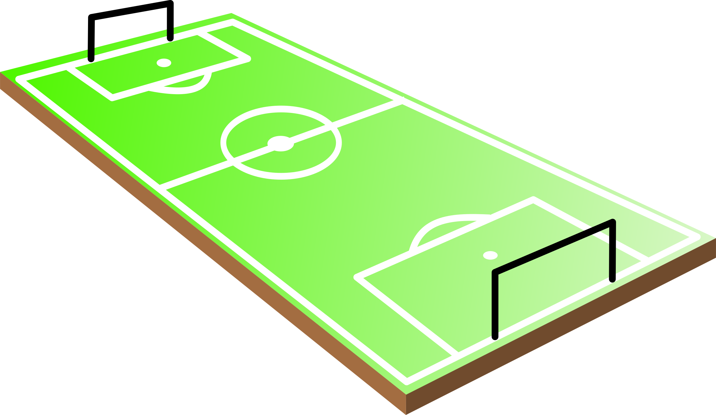 2400x1393 Football Field Clip Art 4
