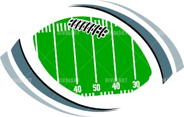361x230 Football Field Clip Art Clipart