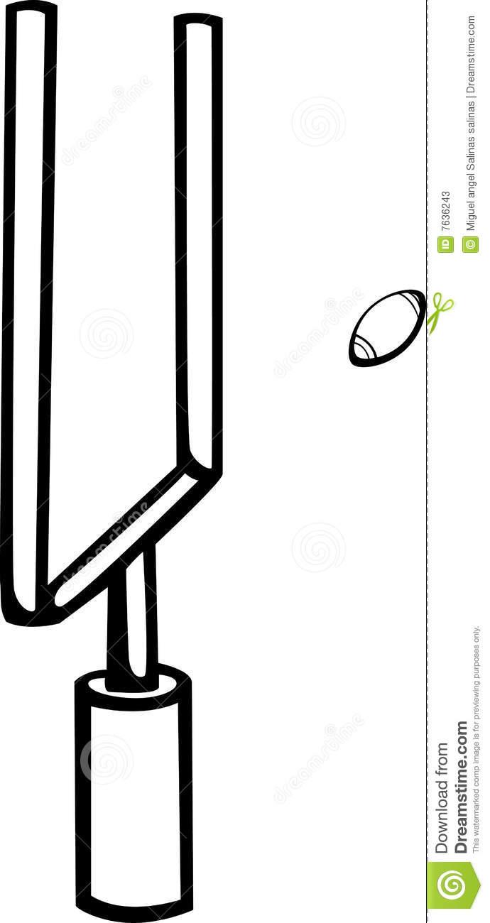 690x1300 Clipart Football Field Goal