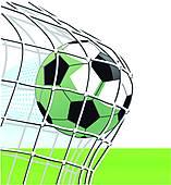 157x170 Football Goal Clip Art