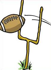 172x234 Free Football Goal Post Clipart