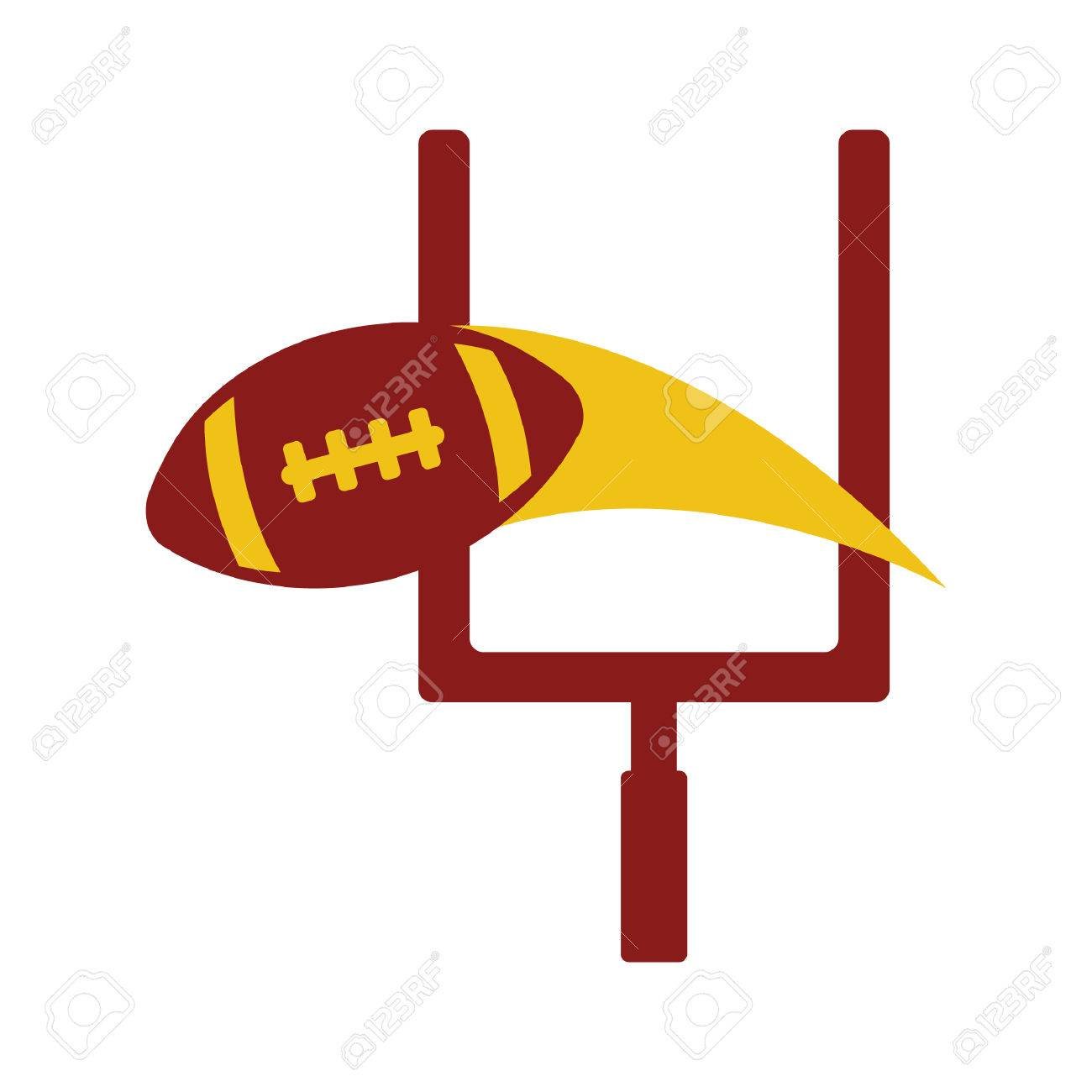 1300x1300 American Football Goal Post Royalty Free Cliparts, Vectors,