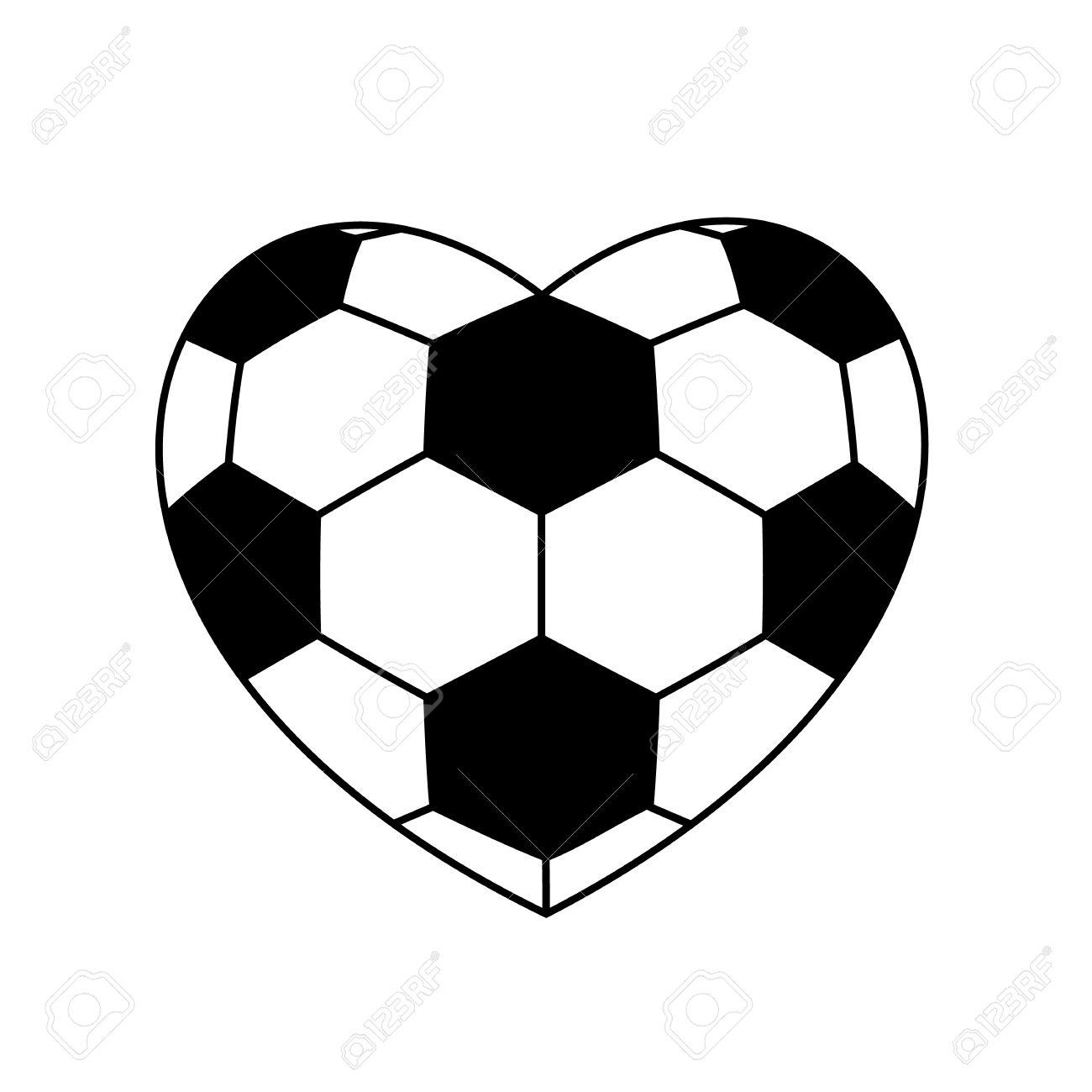 1300x1300 Soccer Clipart Heart