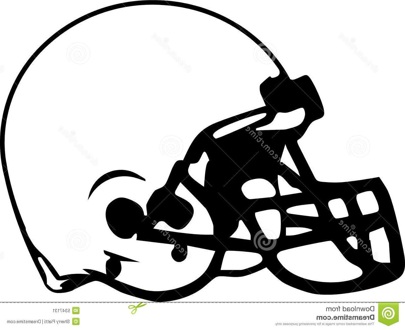 1300x1060 Hd Football Helmet Drawing Photos