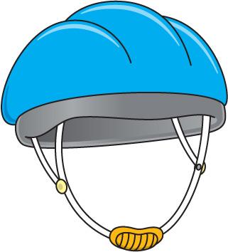 321x354 Bicycle Helmet Clipart