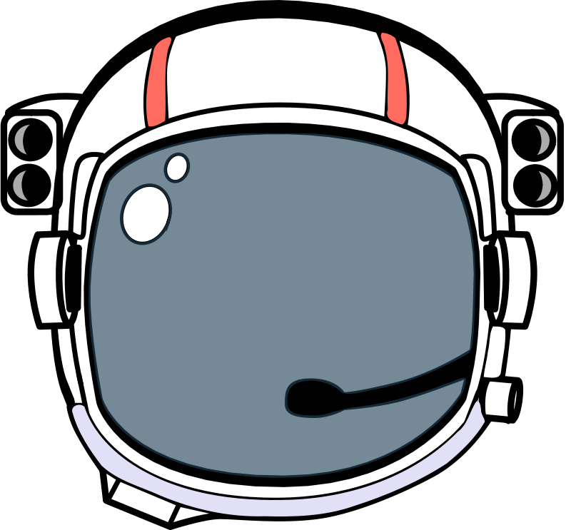 800x743 Free Clipart Space Helmet Magnesus