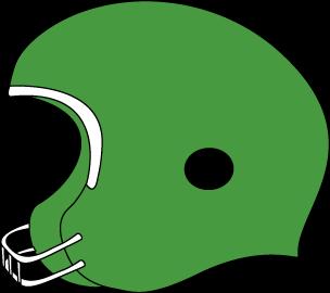 304x270 Green Football Helmet Clip Art