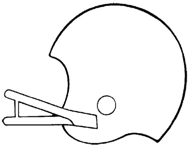 650x511 Drawn Football Football Helmet