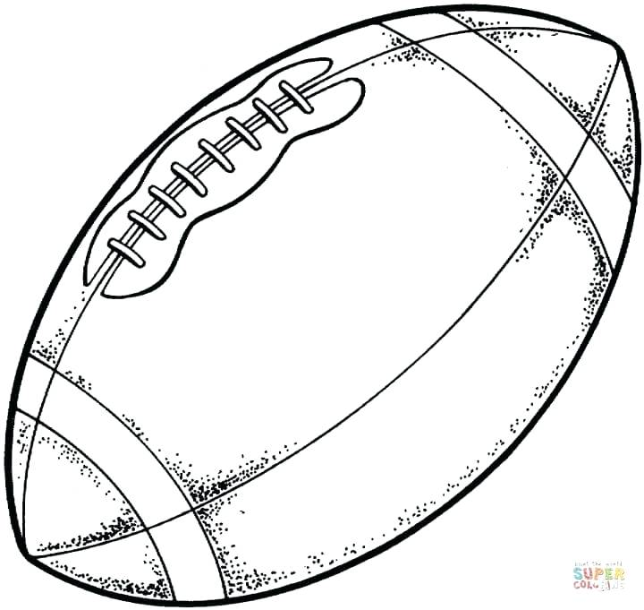 720x681 Football Coloring Pages Delightful Design Coloring Pages Football