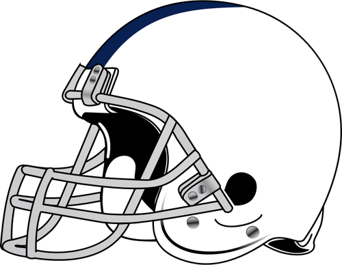 500x388 American Football Helmet Vector Drawing Public Domain Vectors