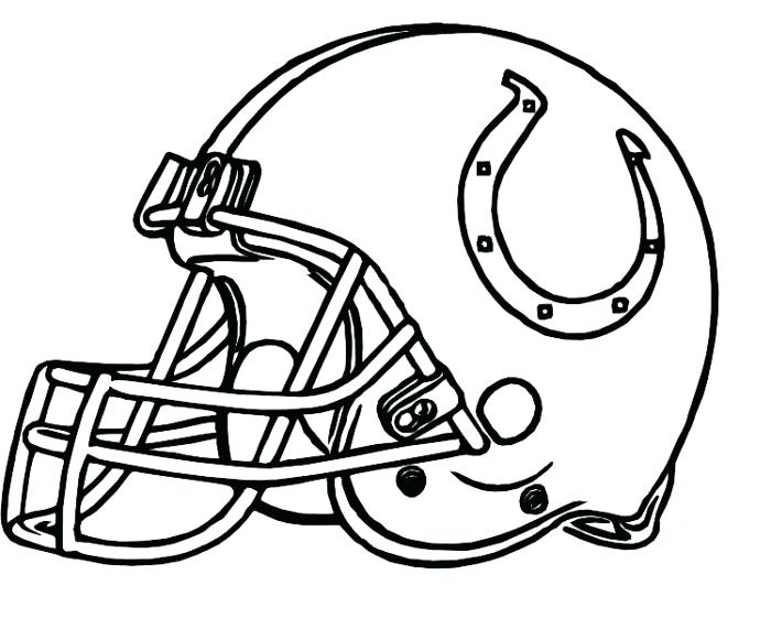 700x571 Pro Football Helmet Coloring Page Anti Skull Cracker Football