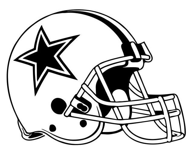632x511 Dallas Cowboy Helmet Clipart