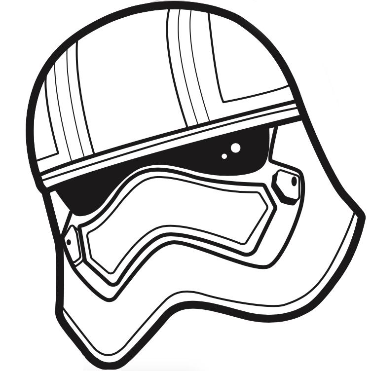 754x752 Drawn Star Wars Helmet