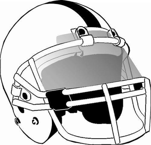 500x481 Football Helmet With Visor Vector Illustration. Graphic Design