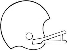 236x180 Free Printable Football Helmet Templates