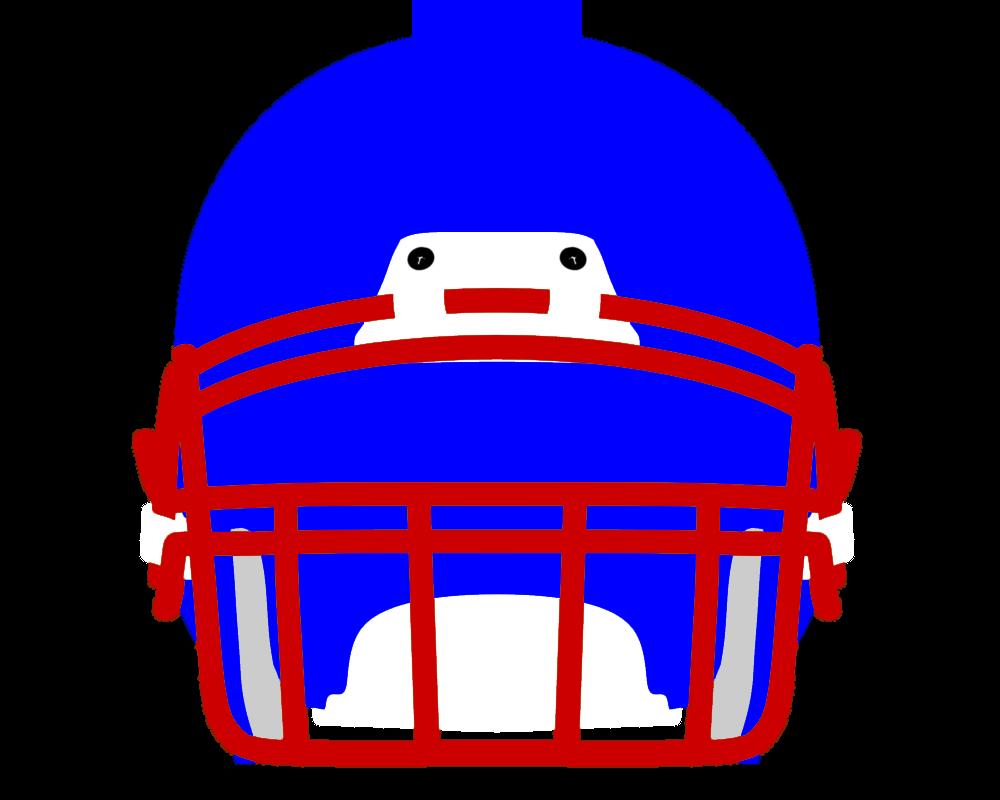 1000x800 Football Helmet Front View Clipart