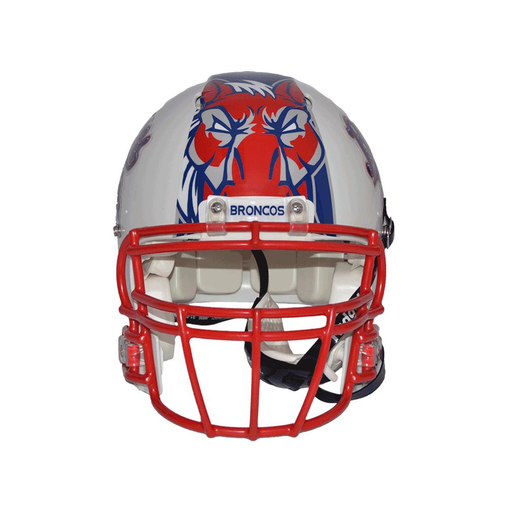 1000x1000 Custom Pennant Football Helmet Decal Stripes
