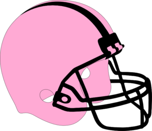 298x258 Football Helmet Pink And Black Clip Art