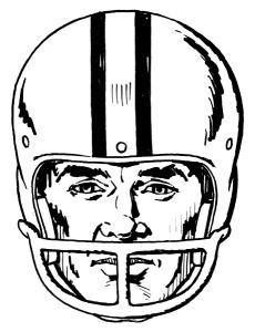 230x300 Football Clip Art Download